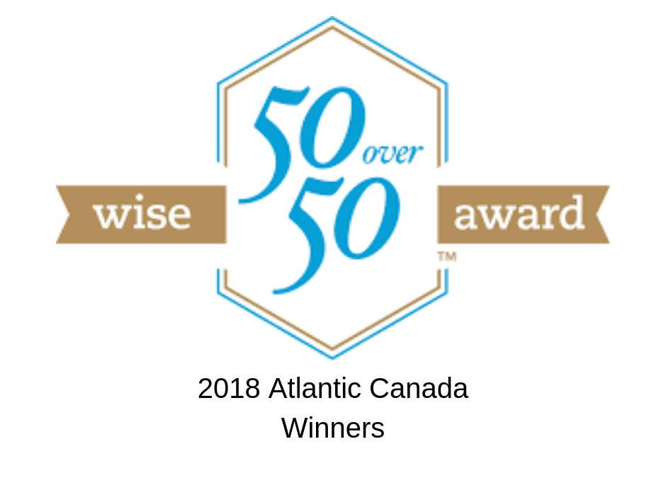 Wise 50 Over 50 Award 2018 Atlantic Canada Winners