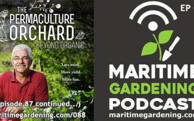 Maritime Gardening: Talking Fruit Trees with Stefan Sobkowiak